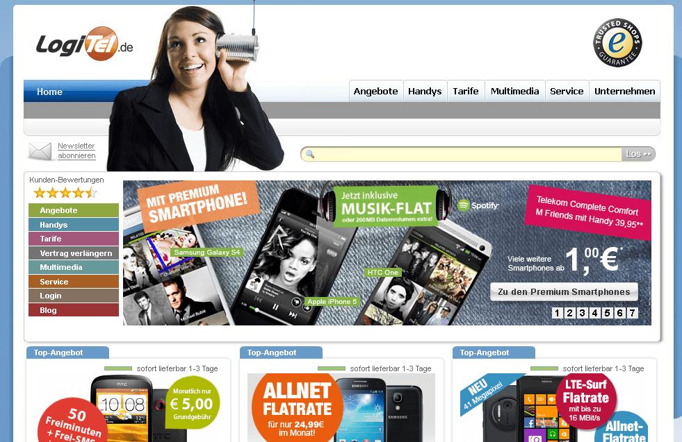 LogiTel Homepage